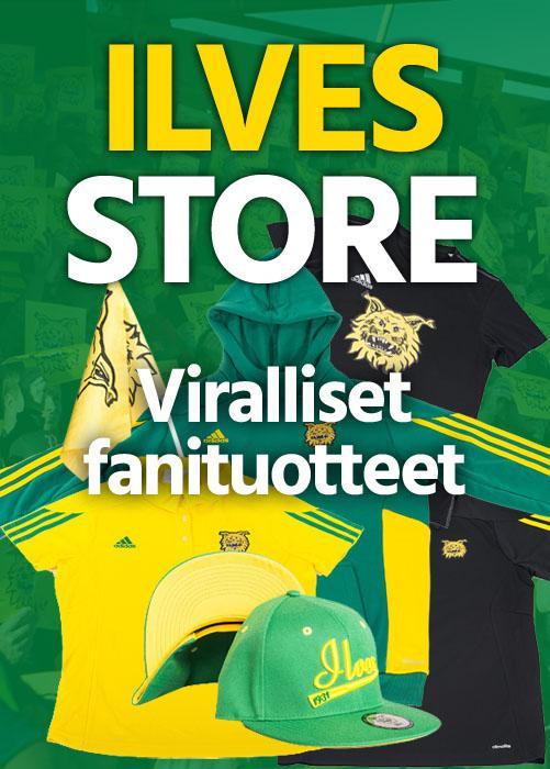Tervetuloa tutustumaan Ilves Storeen!